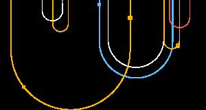 Decorative linear background image